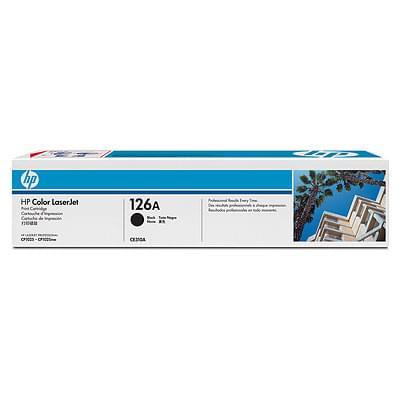 Toner 126A Black CE310A pour imprimante  HP - 0