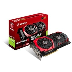 MSI Carte Graphique GTX 1060 GAMING X 3G - GTX1060/3G/DP/DVI/HDMI Cybertek