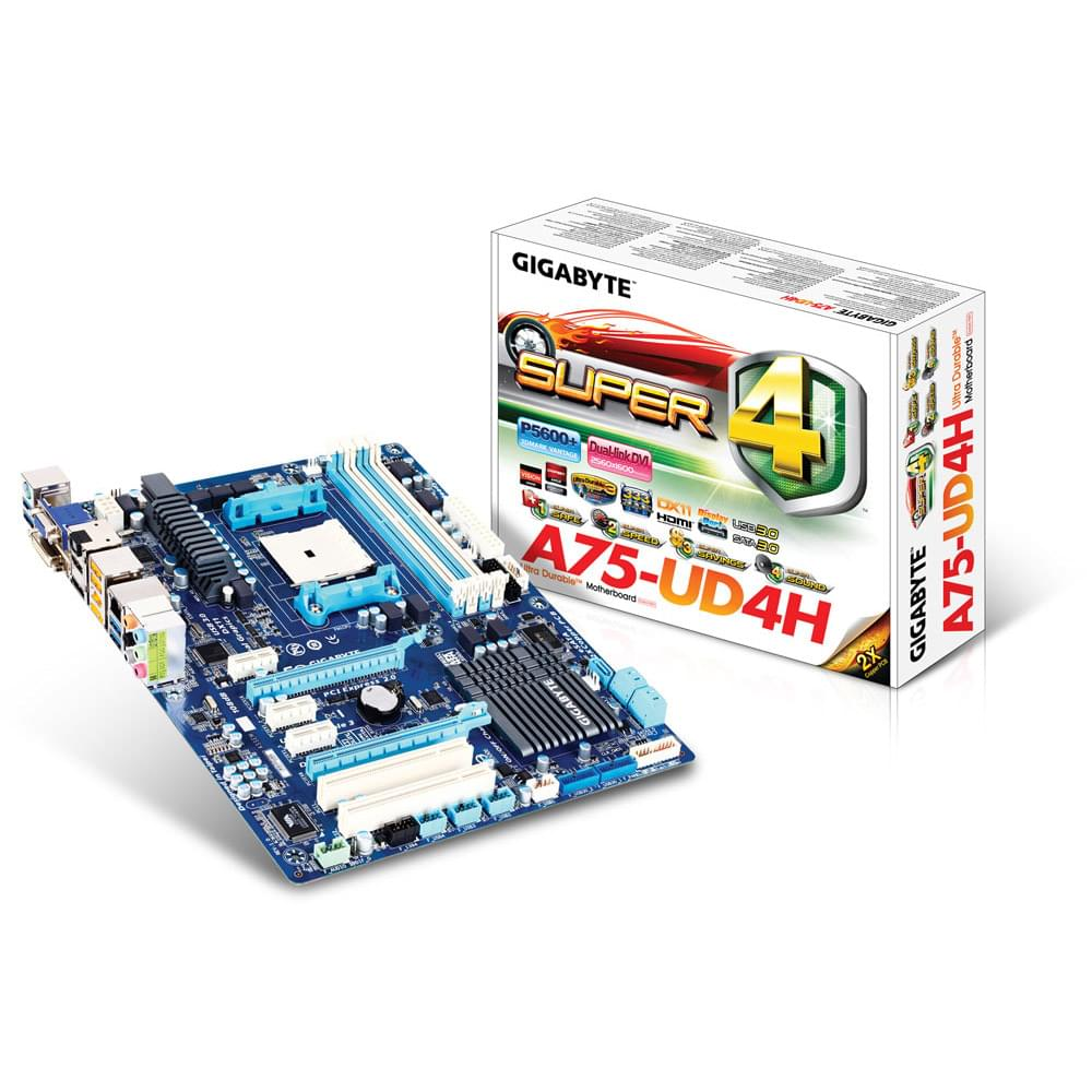 Gigabyte A75-UD4H (A75-UD4H) - Achat / Vente Carte Mère sur Cybertek.fr - 0