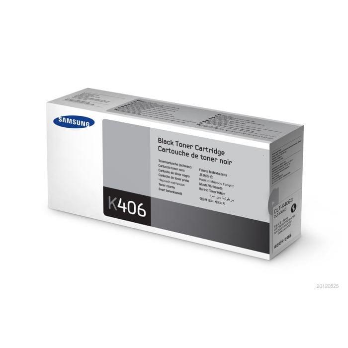 Toner CLT-K406S Noir pour imprimante Laser Samsung - 0
