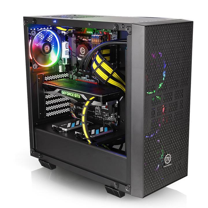 Thermaltake Core G21 Tempered Glass Edition (CA-1I4-00M1WN-00 **) - Achat / Vente Boîtier PC sur Cybertek.fr - 1