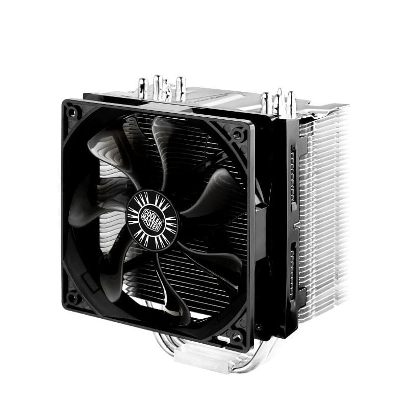 Cooler Master Hyper 412S RR-H412-13FK-R1 (RR-H412-13FK-R1) - Achat / Vente Ventilateur sur Cybertek.fr - 0