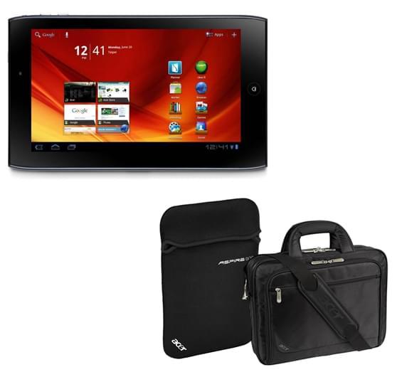 Acer Iconia Tab A101 3G (XE.H6VEN.001+LC.BAG0A.042  soldé) - Achat / Vente Tablette Tactile sur Cybertek.fr - 0
