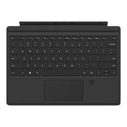 Microsoft Accessoire Tablette Clavier Type Cover Noir Surface PRO 4 Touch ID Cybertek