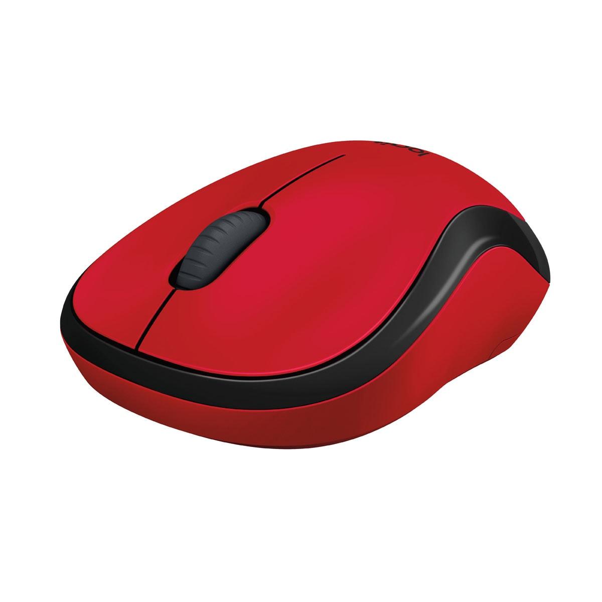 Logitech M220 Silent Red - Souris PC Logitech - Cybertek.fr - 2
