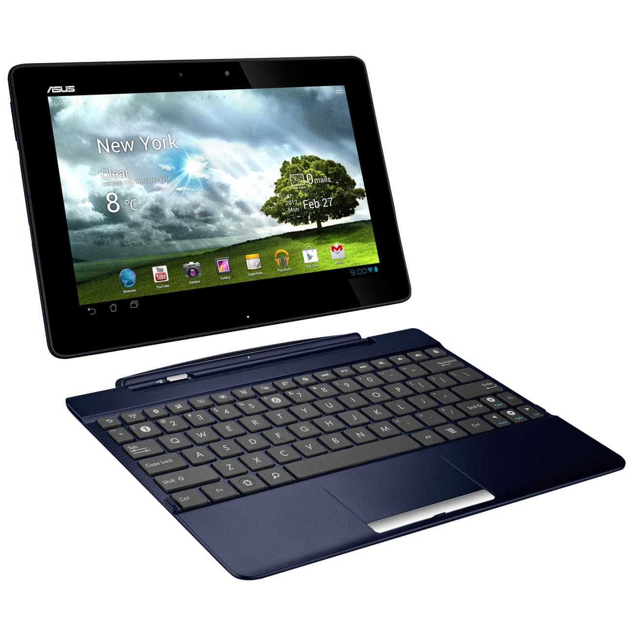 """Asus TF300T-1K164A (dock)- Tegra 3/1Go/32Go/10.1""""/And.4 (TF300T-1K164A) - Achat / Vente Tablette Tactile sur Cybertek.fr - 0"""