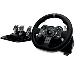 image produit Logitech Volant G920 Driving Force (XBox One & PC) Cybertek