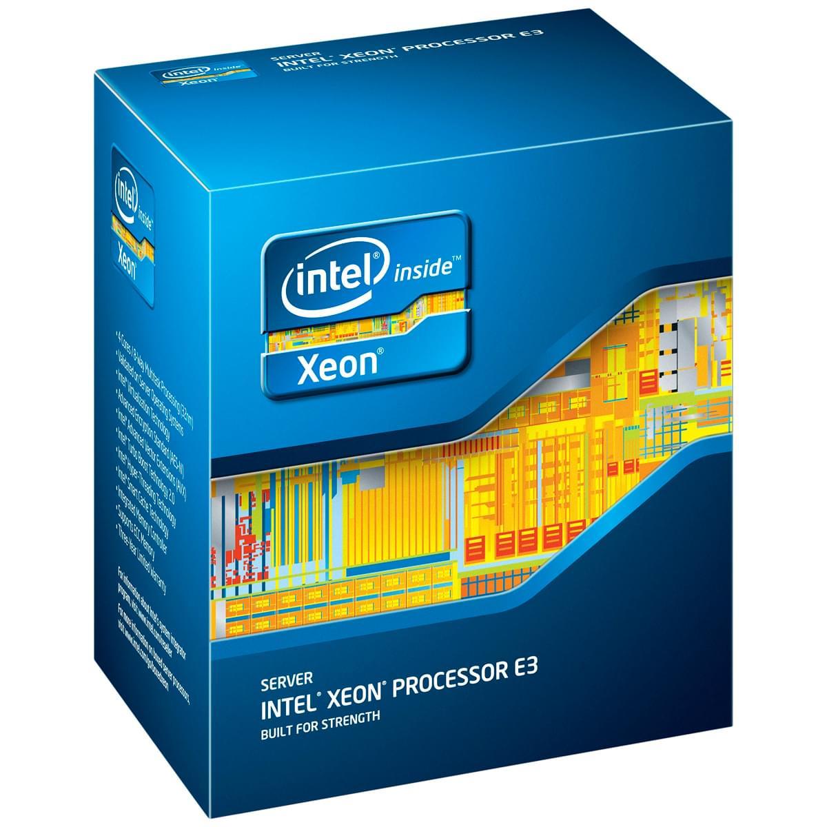 Intel Xeon E3-1270 (BX80623E31270) - Achat / Vente Processeur sur Cybertek.fr - 0