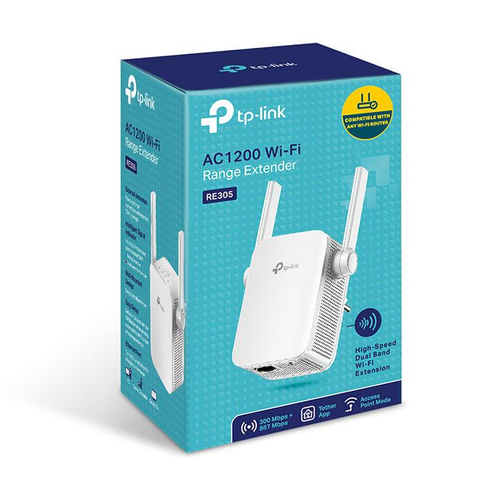 TP-Link RE305 - Répéteur WiFi AC 1200 - Cybertek.fr - 1