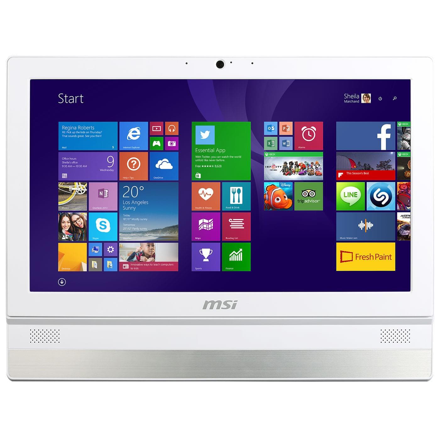 MSI ADORA22 2M-012EU (9S6-ACB111-012) - Achat / Vente All-In-One PC sur Cybertek.fr - 0
