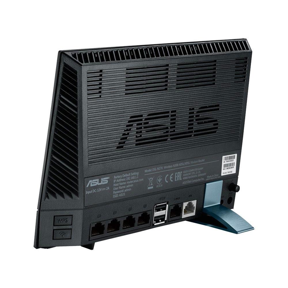 Asus DSL-N17U - Modem/Routeur WiFi N - Routeur Asus - Cybertek.fr - 2