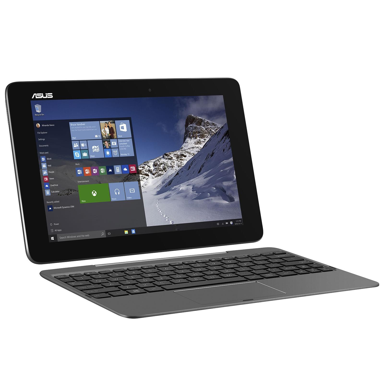 Asus T100HA-FU006T (90NB0748-M02490) - Achat / Vente PC portable sur Cybertek.fr - 0