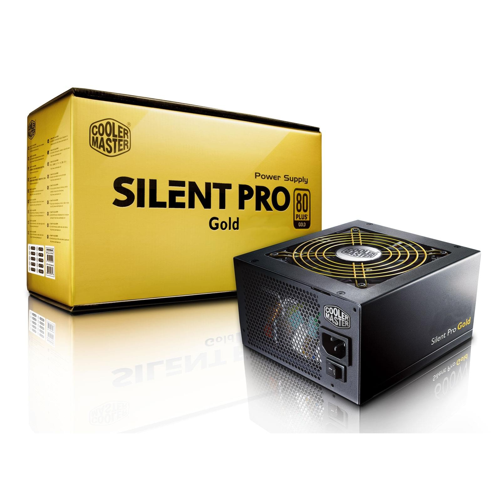 Alimentation PC Cooler Master ATX 1000 Watts Silent Pro Gold 1000 80+ Gold - 0