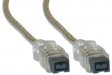 No Name Câble Firewire IEEE1394 9P-9P (142960) - Achat / Vente Connectique PC sur Cybertek.fr - 0
