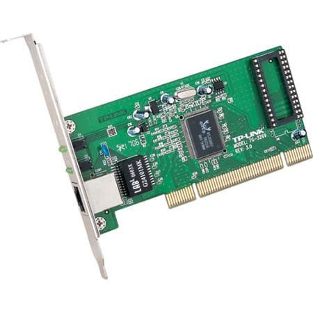 TP-Link PCI 10/100/1000MB TG-3269 (TG-3269 / 301010) - Achat / Vente Carte Réseau sur Cybertek.fr - 0