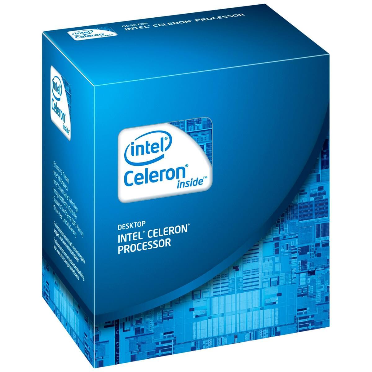 Intel Celeron Dual-Core G540 (BX80623G540) - Achat / Vente Processeur sur Cybertek.fr - 0