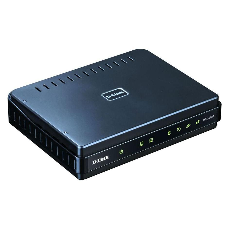 D-Link DSL-2680 (DSL-2680) - Achat / Vente Routeur sur Cybertek.fr - 0
