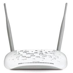 TP-Link Routeur N300 ADSL2+ Router with USB - TD-W8968  Cybertek