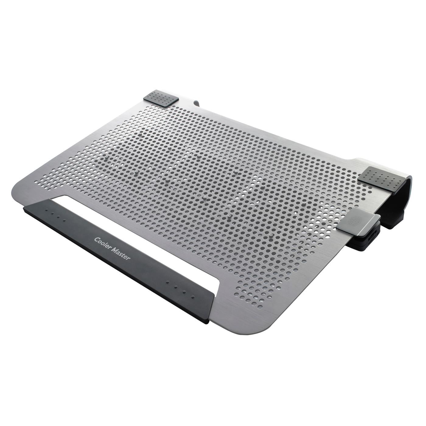 Ventirad Cooler Master Refroidisseur NB Notepal U3 Silver R9-NBC-8PCS-GP - 0
