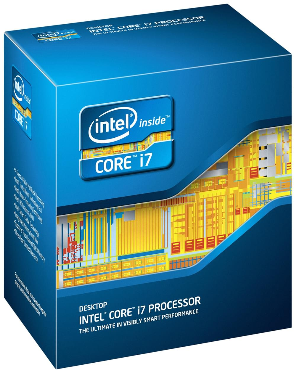Intel Core i7 2600 - 3.4GHz - Processeur Intel - Cybertek.fr - 0