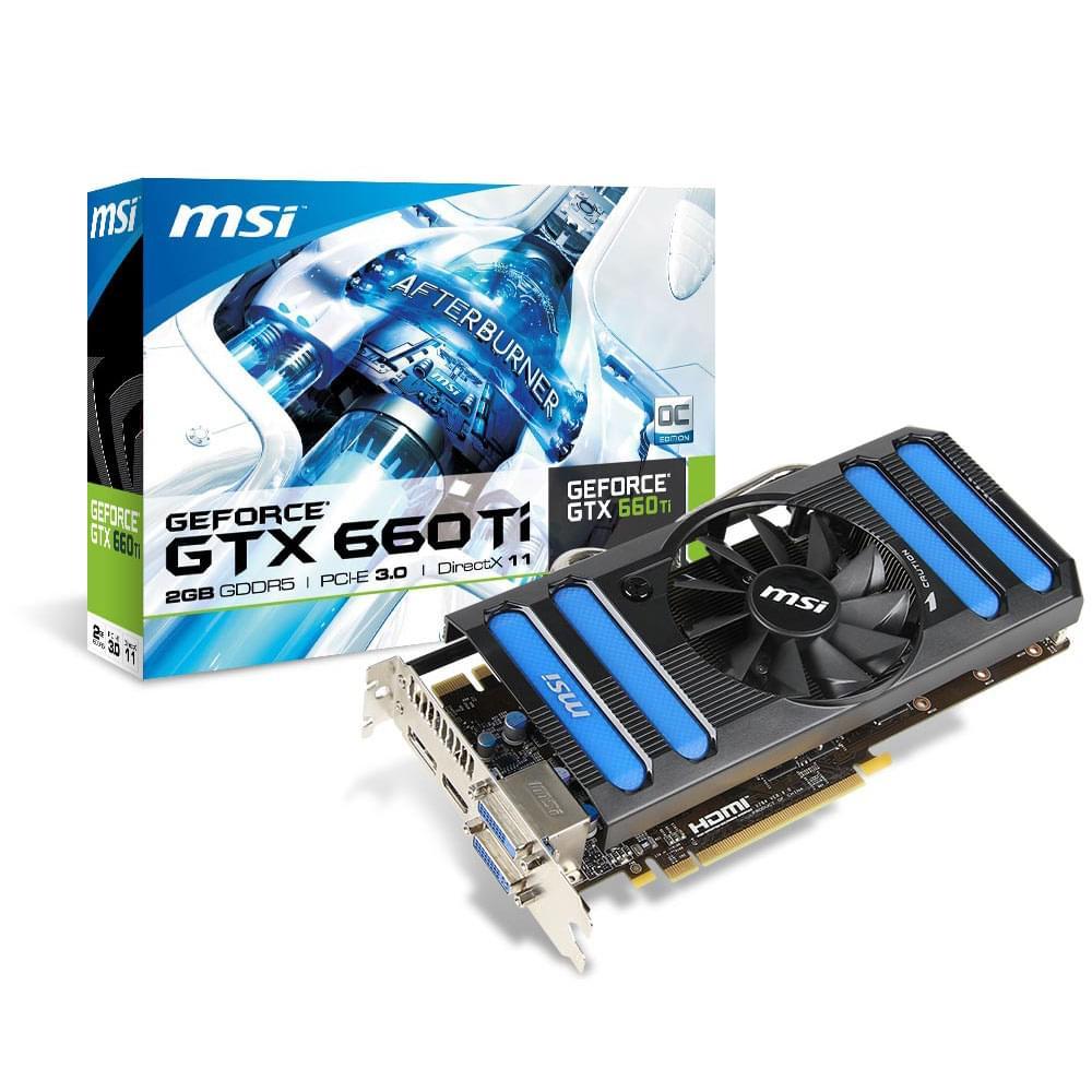 MSI  - 2Go - carte Graphique PC - GPU  - 0
