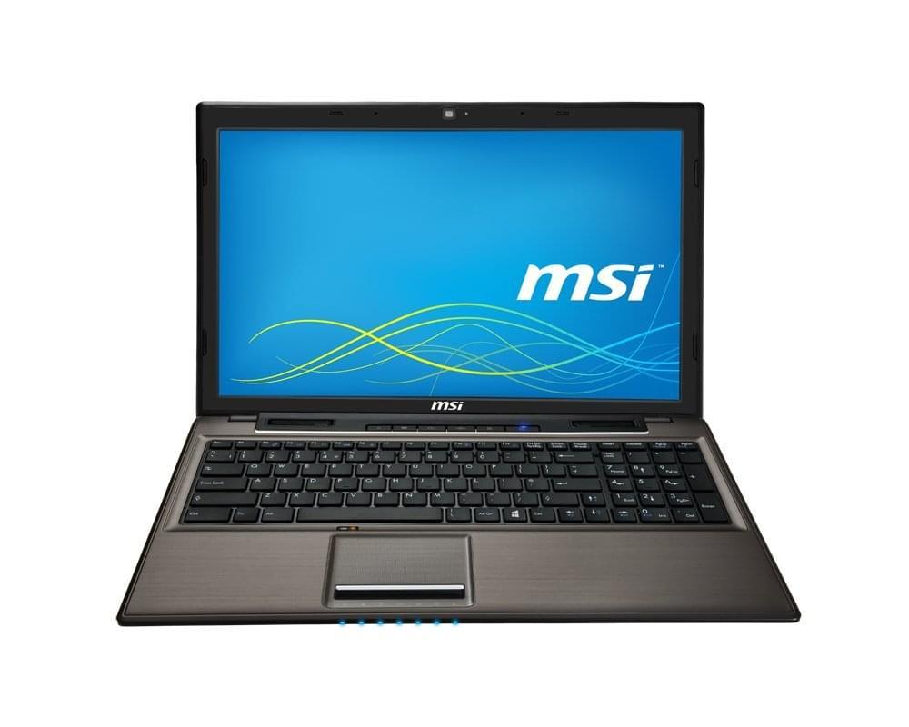 MSI CR61 2M-277XFR (CR61 2M-277XFR) - Achat / Vente PC Portable sur Cybertek.fr - 0