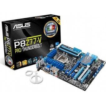 Asus P8Z77-V PRO/Thunderbolt (90-MIBHS5-G0EAY0DZ) - Achat / Vente Carte mère sur Cybertek.fr - 0
