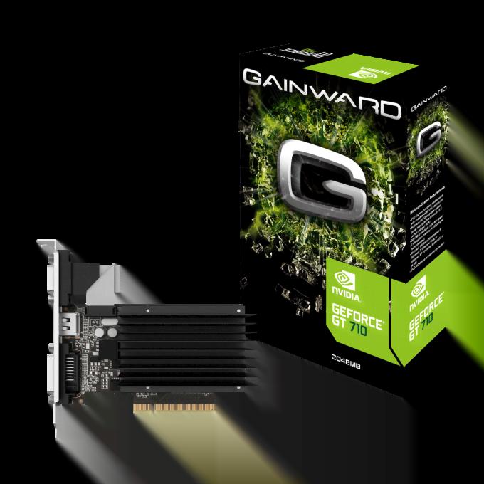 Gainward GT 710 2GB Silent FX 2Go - Carte graphique Gainward - 0