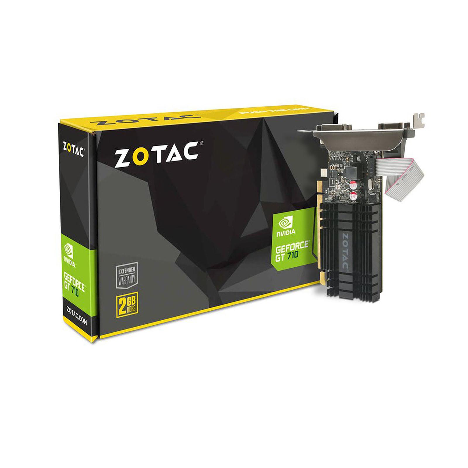 ZOTAC GT 710 2GB Zone Edition 2Go - Carte graphique ZOTAC - 0
