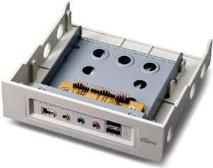 No Name 4 ports USB2+1 FireWire+Audio interne Blanc (3401147) - Achat / Vente Hub sur Cybertek.fr - 0