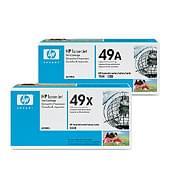 Dual Pack Toner Noir 49X - Q5949XD pour imprimante  HP - 0