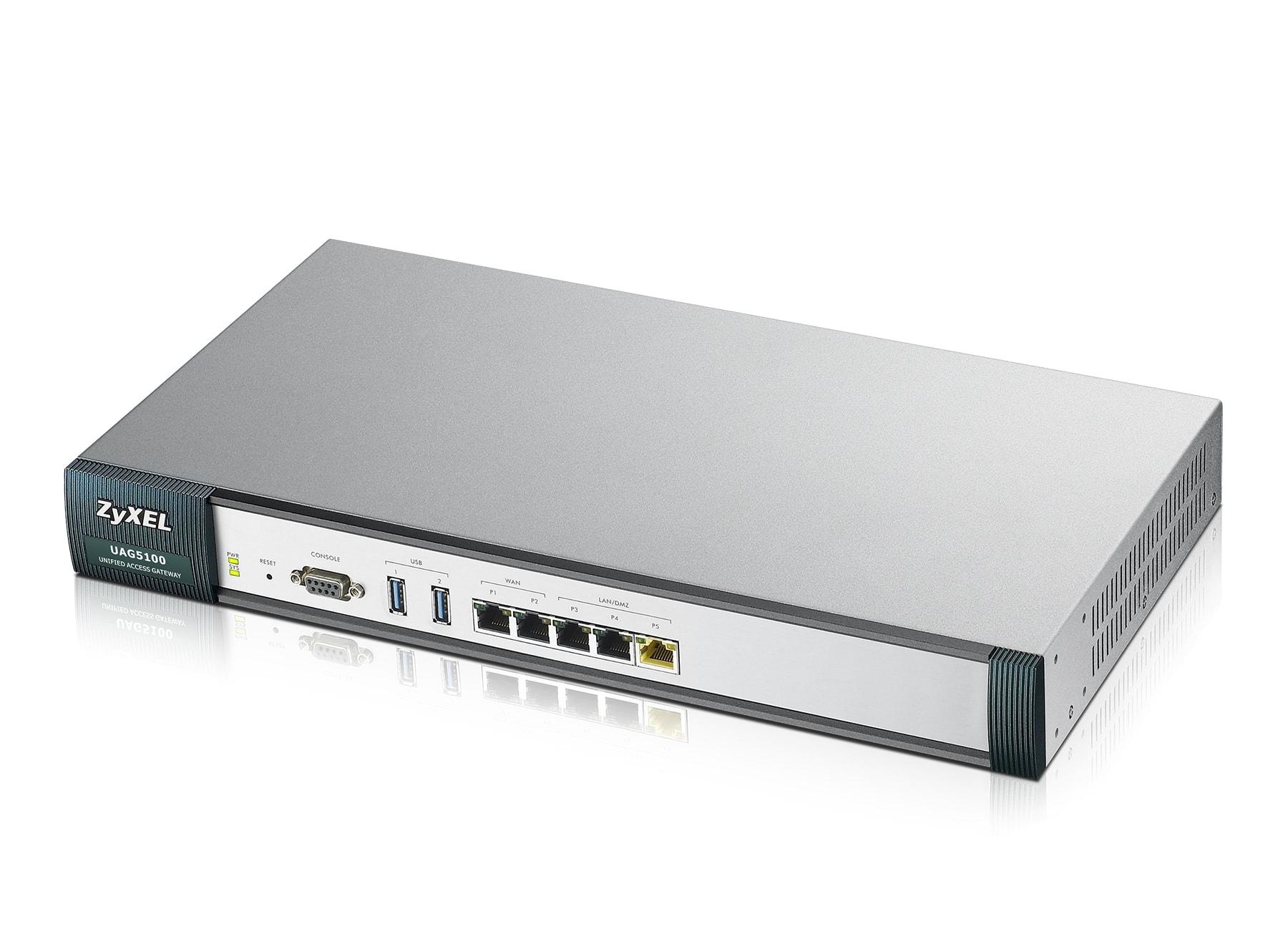 Zyxel UAG5100 - 3xRj45/2xWAN/WiFi 802.11n - Routeur Zyxel - 0