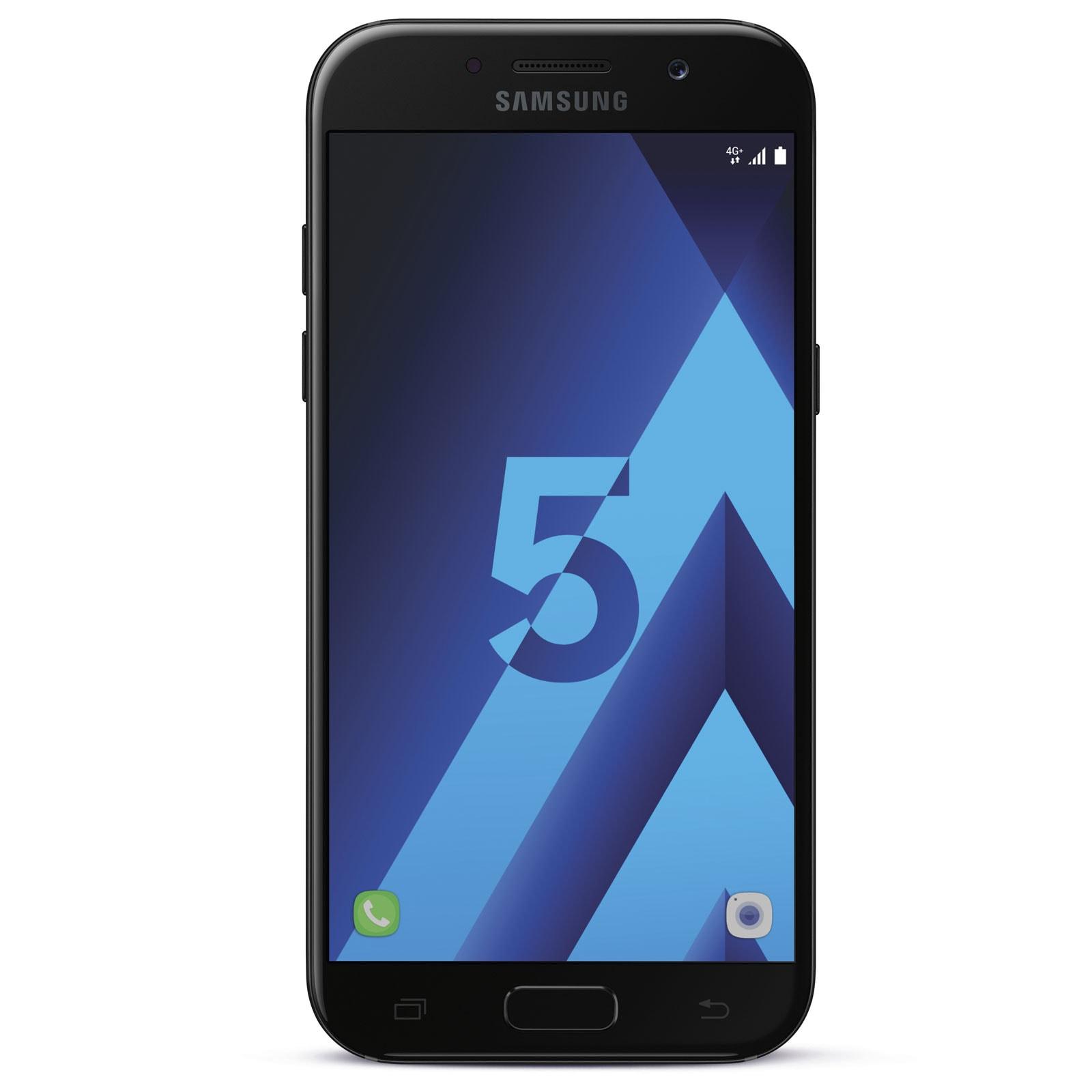 Samsung Galaxy A5 (2017) Noir - Téléphonie Samsung - Cybertek.fr - 0