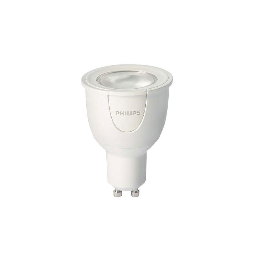 Philips HUE - Ampoule LED Blanche et Couleur 6,5W GU10 (929000261705) - Achat / Vente Objet connecté / Domotique sur Cybertek.fr - 1