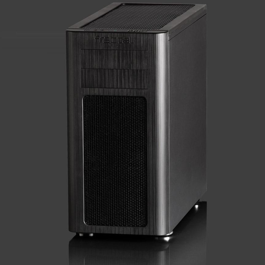 Fractal Design MT/Sans Alim/ATX Noir - Boîtier PC Fractal Design - 0