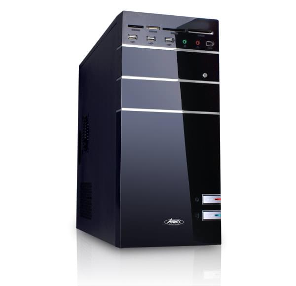 Advance mT/480W/mATX Noir - Boîtier PC Advance - Cybertek.fr - 0