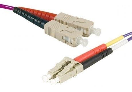 No Name Cordon fibre optique OM3 SC/LC 50/125 (391553) - Achat / Vente Connectique réseau sur Cybertek.fr - 0
