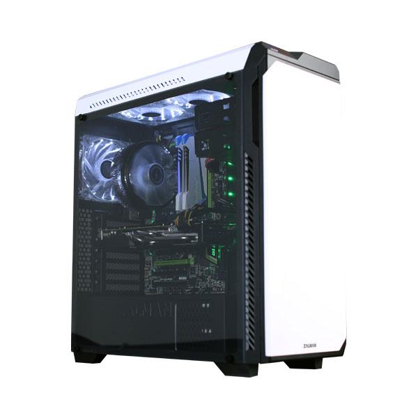 Zalman MT/Sans Alim/ATX Blanc - Boîtier PC Zalman - Cybertek.fr - 2