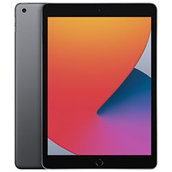 "image produit Apple iPad 10.2"" WiFi 128Go Gris Sidéral - MYLD2NF/A Cybertek"