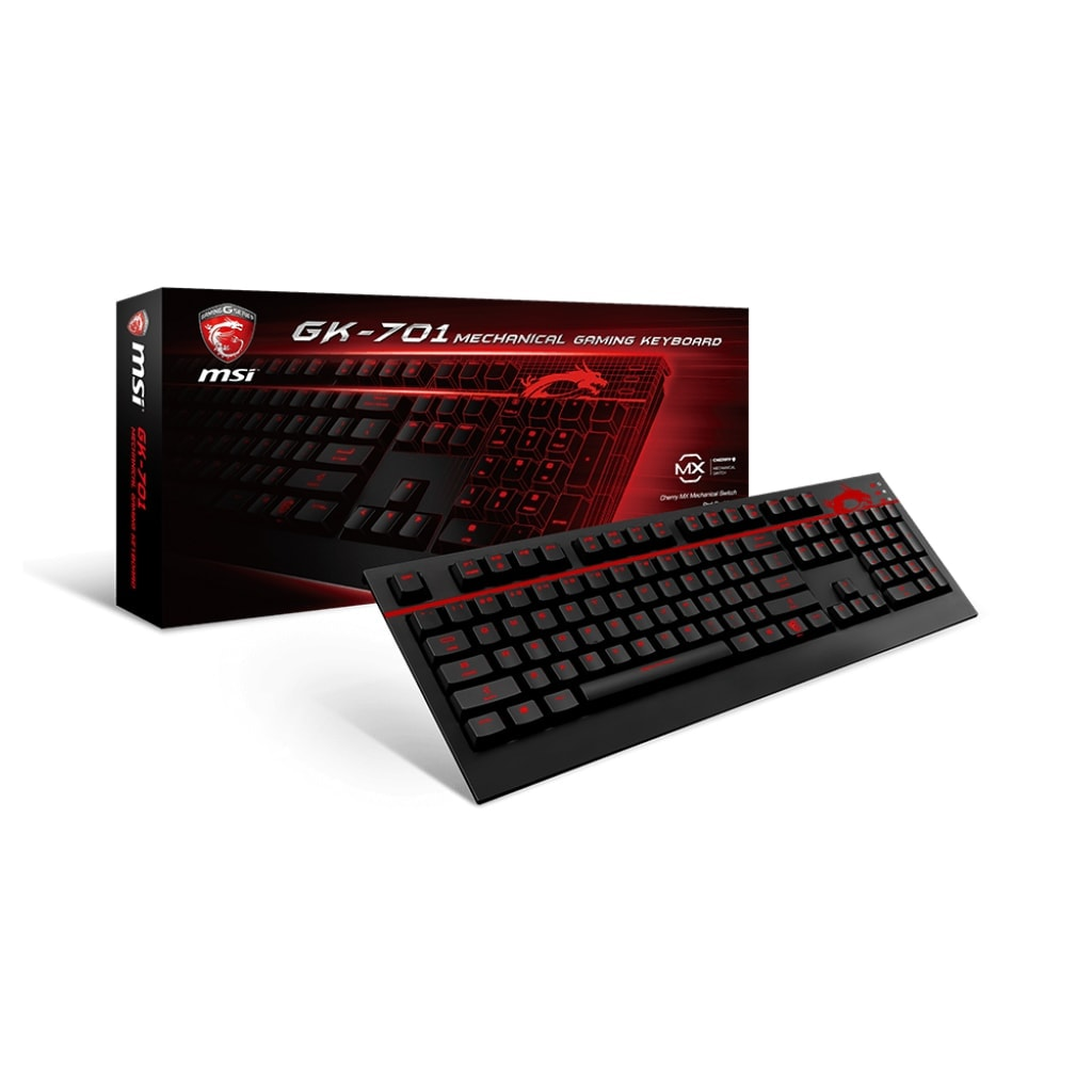 MSI GK-701 Gaming - S11-04FR207-CL4 - Clavier PC Gamer Mécanique  - 0