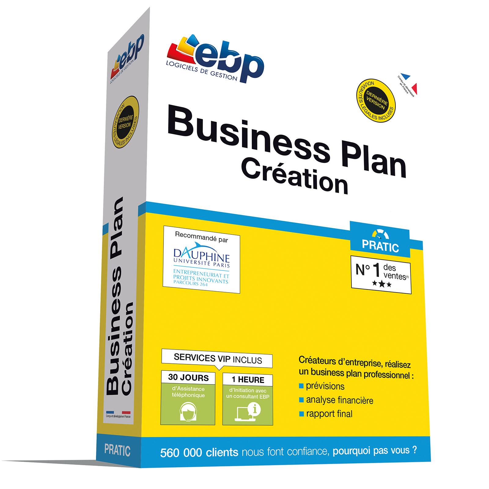 EBP Business Plan PRATIC + VIP - Logiciel application - 0