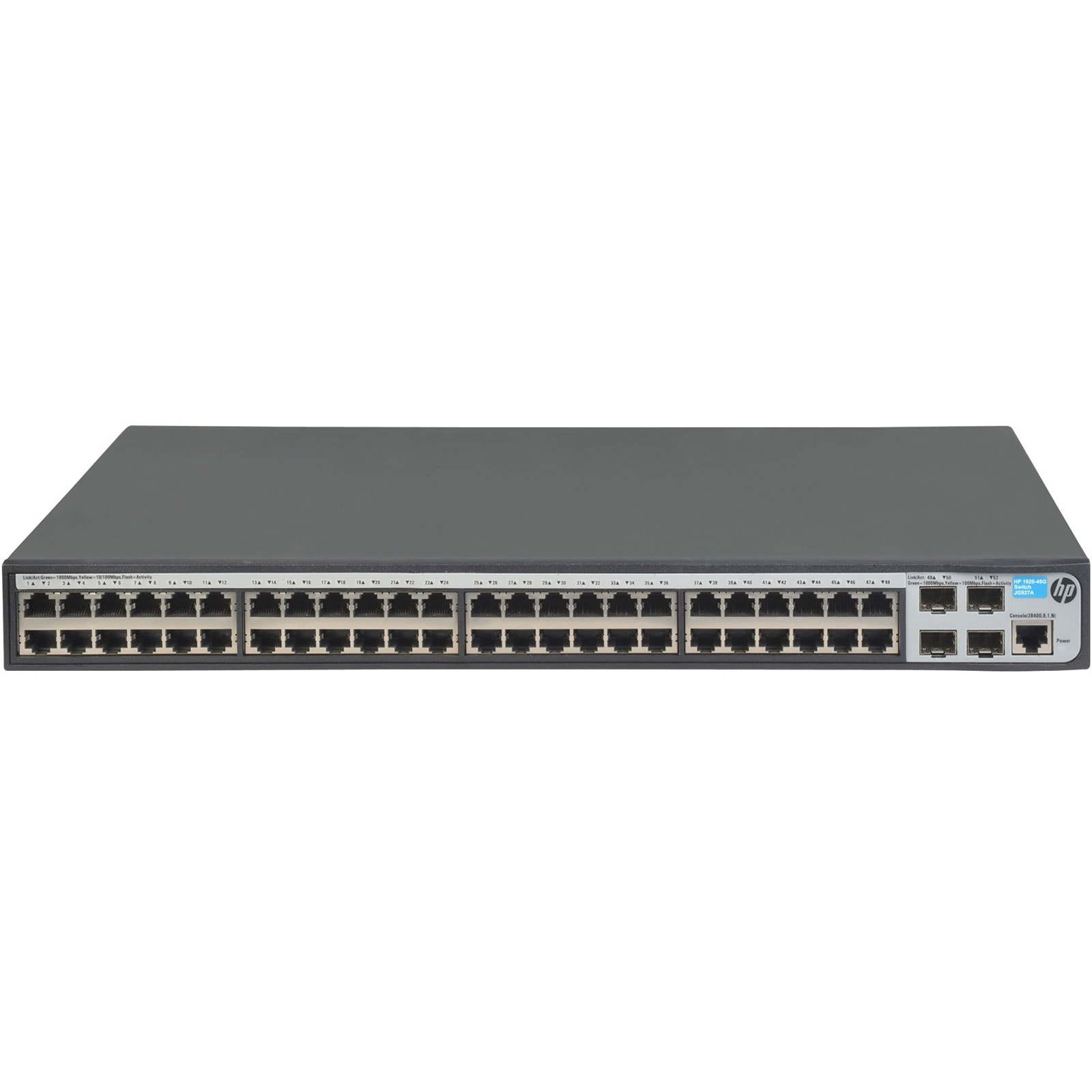 Switch HP 48 ports 10/100/1000 + 4 ports SFP - 1920-48G - 0