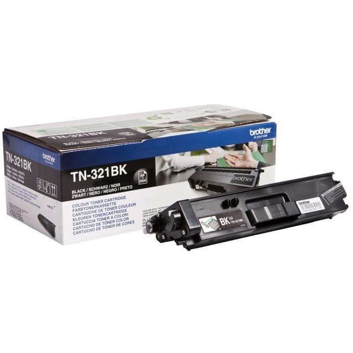 Toner TN321BK Noir pour imprimante  Brother - 0