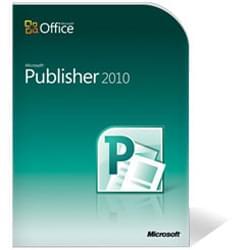 Microsoft Publisher 2010 Boite (164-06236) - Achat / Vente Logiciel Application sur Cybertek.fr - 0