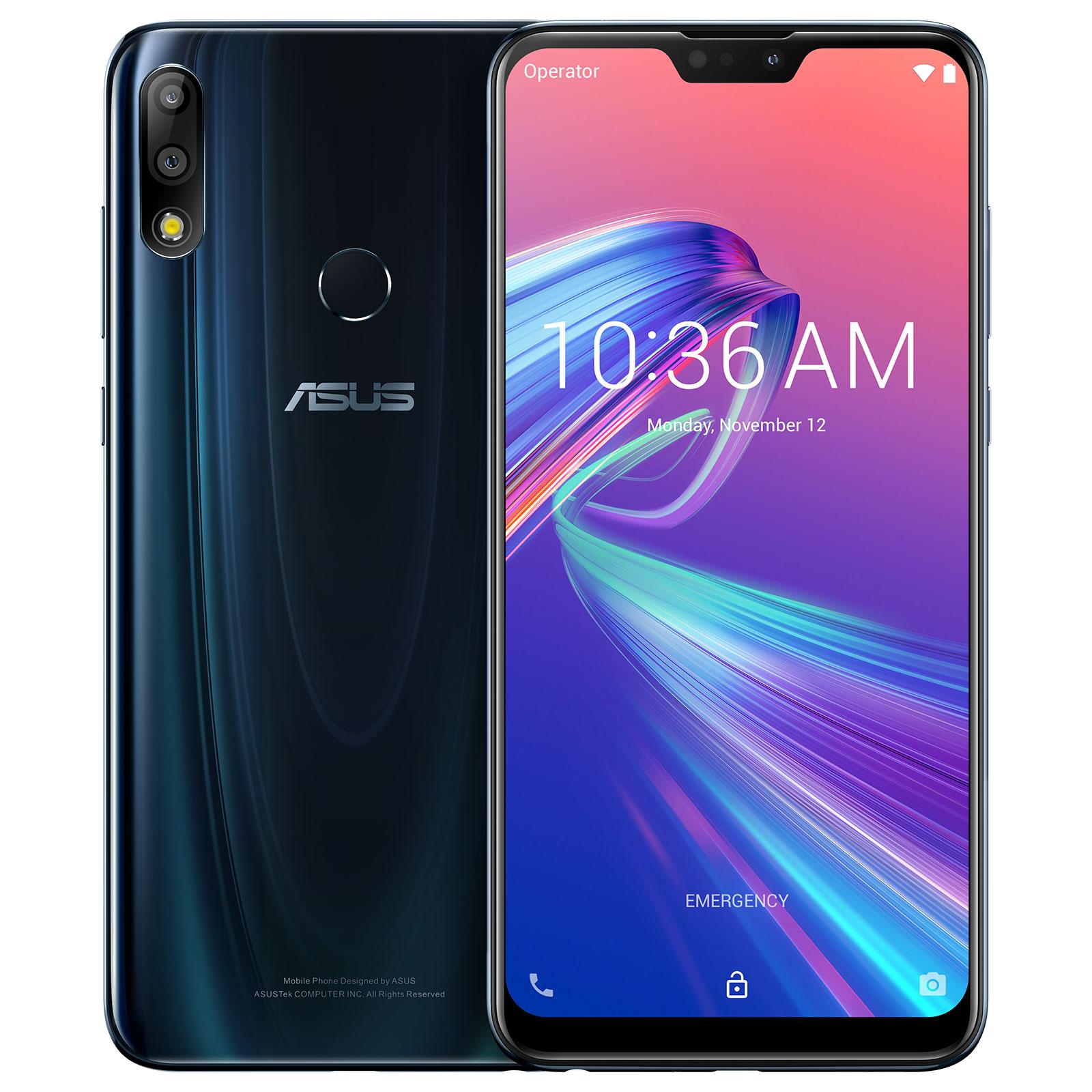 Asus ZenFone Max PRO M2 Bleu (6Go/64Go) - Téléphonie Asus - 0