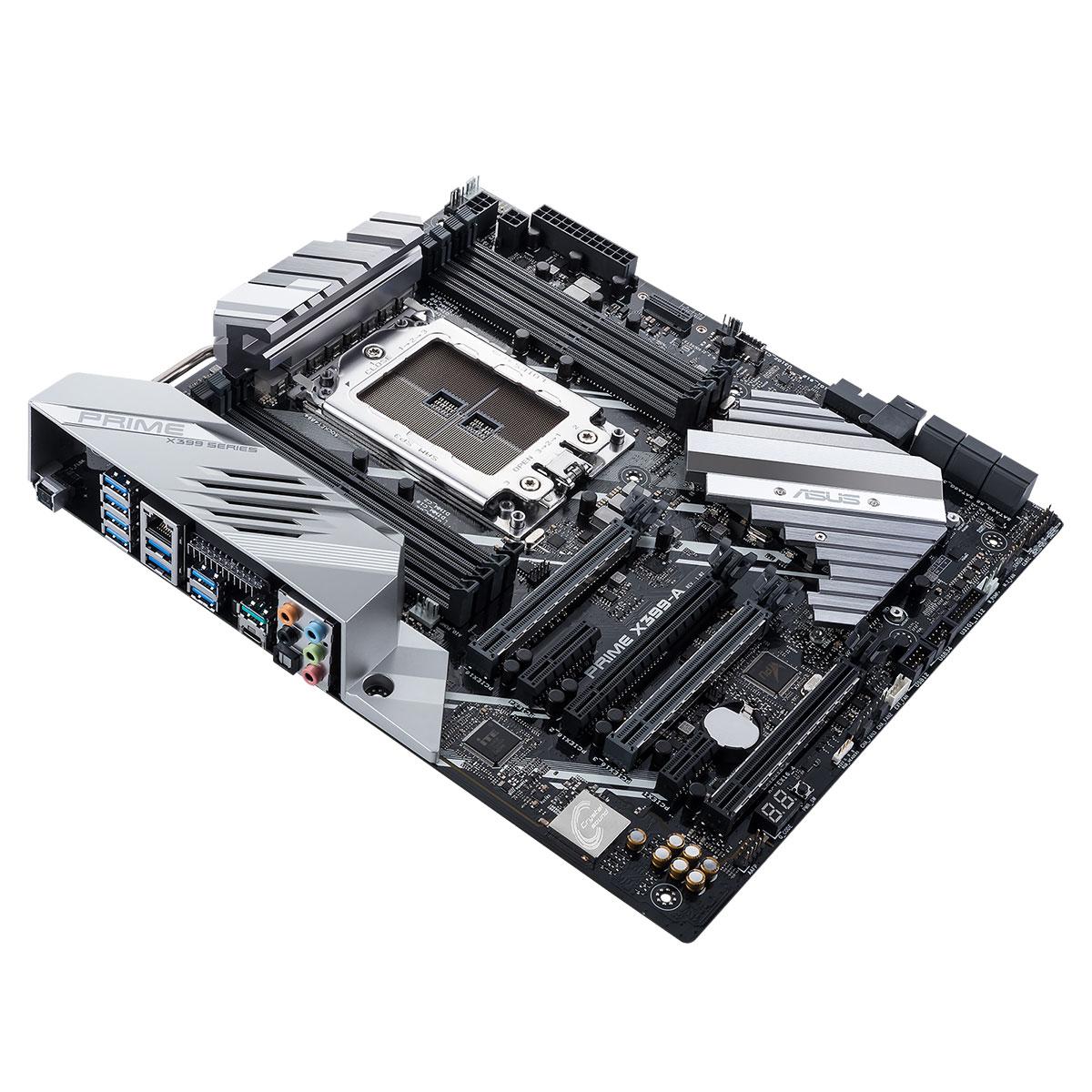 Asus PRIME X399-A E-ATX DDR4 - Carte mère Asus - Cybertek.fr - 0