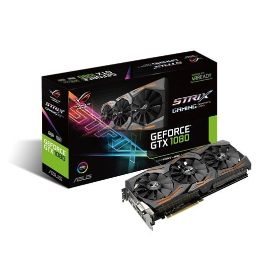 Asus STRIX-GTX1080-A8G-GAMING 8Go - Carte graphique Asus - 0