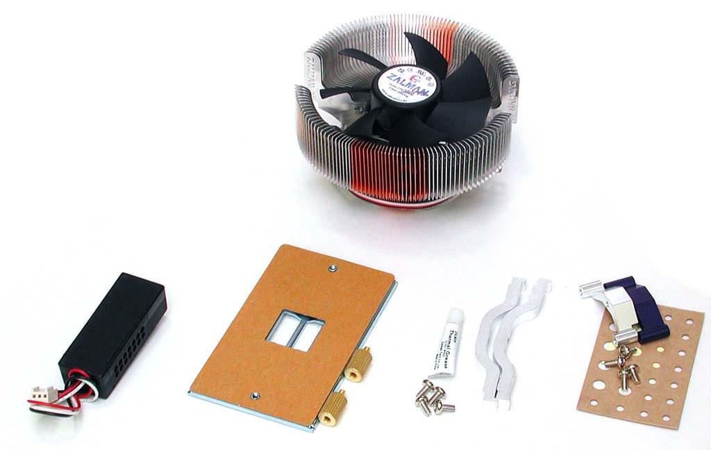 Zalman Kit de fixation ZMCS1 SK775 pour CNPS7000A/B (ZMCS1 (obso)) - Achat / Vente Accessoire Refroidissement PC sur Cybertek.fr - 0