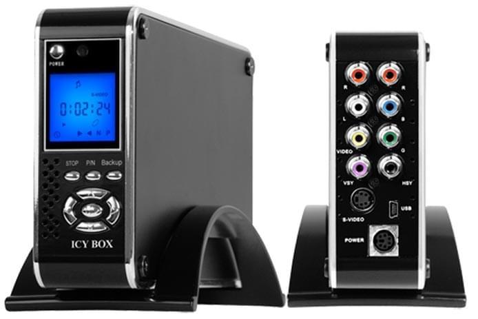 Mediaplayer pour DD 3.5 SATA USB2.0 - IB-MP302S-B - Cybertek.fr - 0