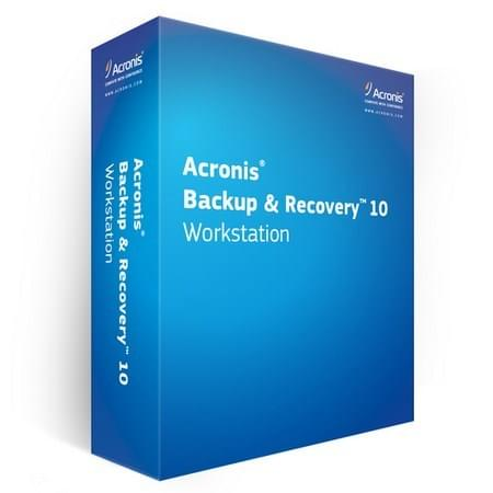 Acronis Backup & Recovery Workstation 10 (TIWLBPFRS) - Achat / Vente Logiciel Application sur Cybertek.fr - 0